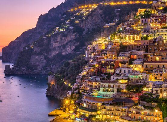 The famous village of Positano