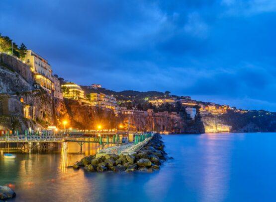 Sorrento on the Italian Amalfi Coast