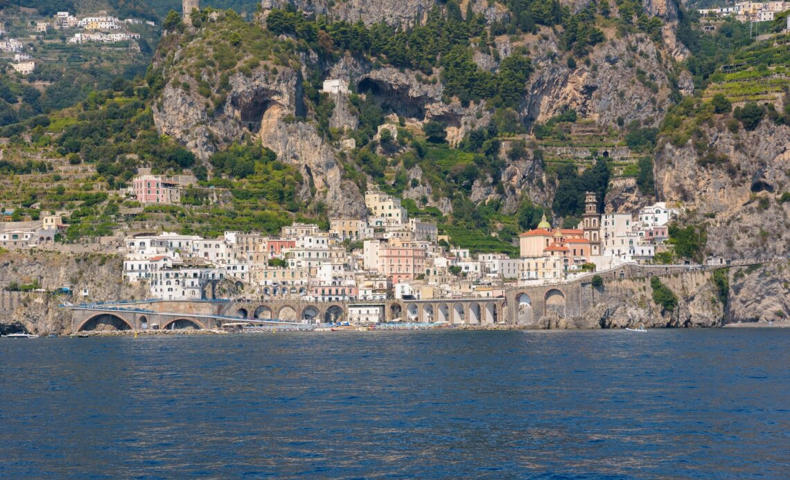 Picturesque Atrani town on Amafli coast