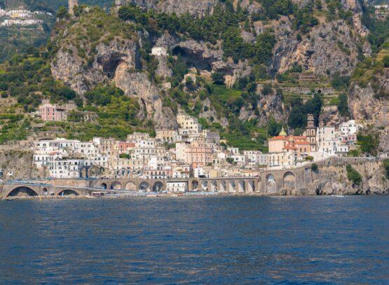 Picturesque Atrani town on Amafli coast