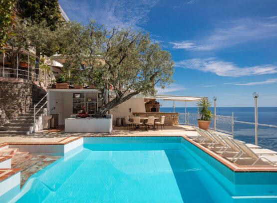 villa oliviero a positano piscina esterna