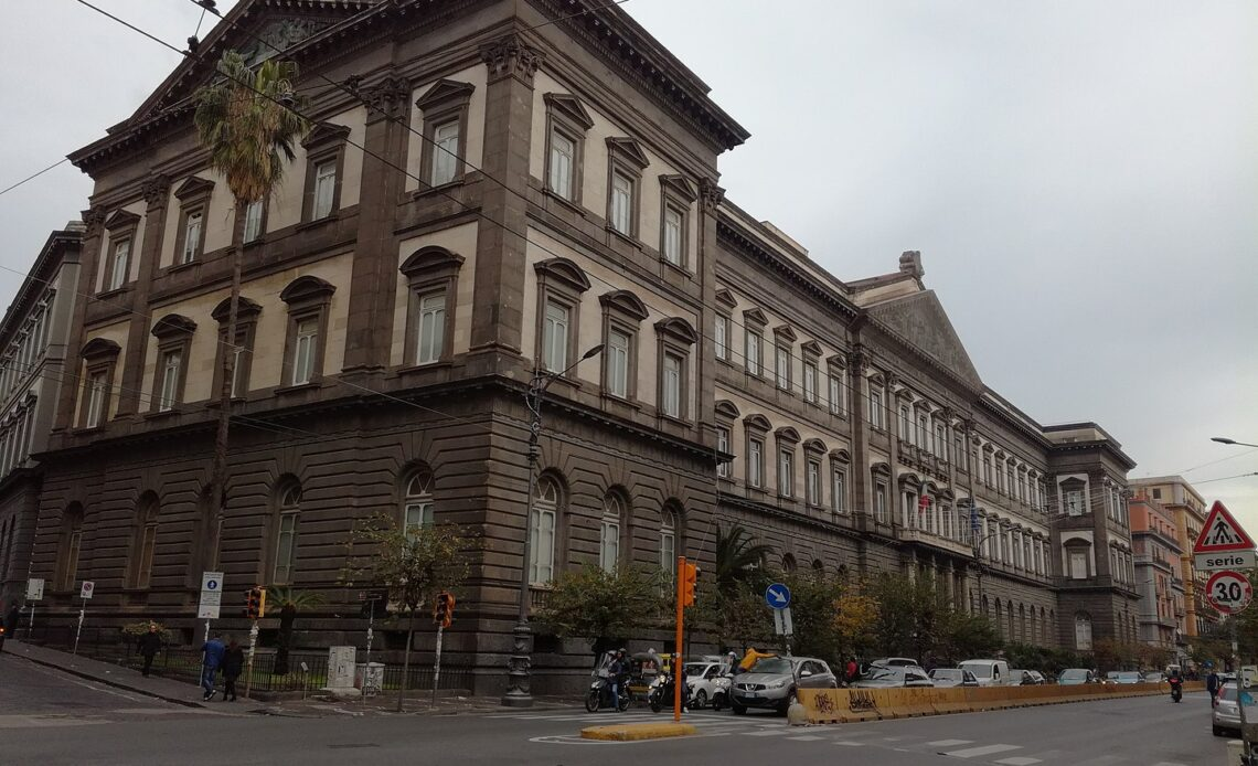 università federico II di Napoli, foto di Di Baku