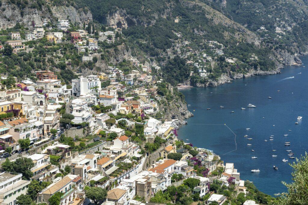 Costiera Amalfitana, Italy, the coast at summer: Positano